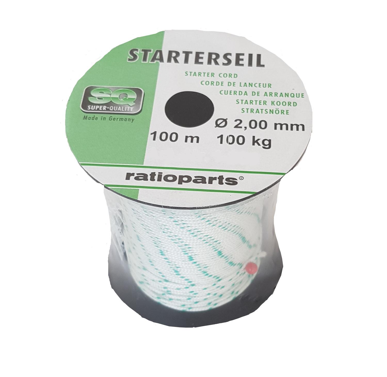 Ratioparts Cuerda 2mm  100m Cocherete  Seleccione de las marcas más nuevas como