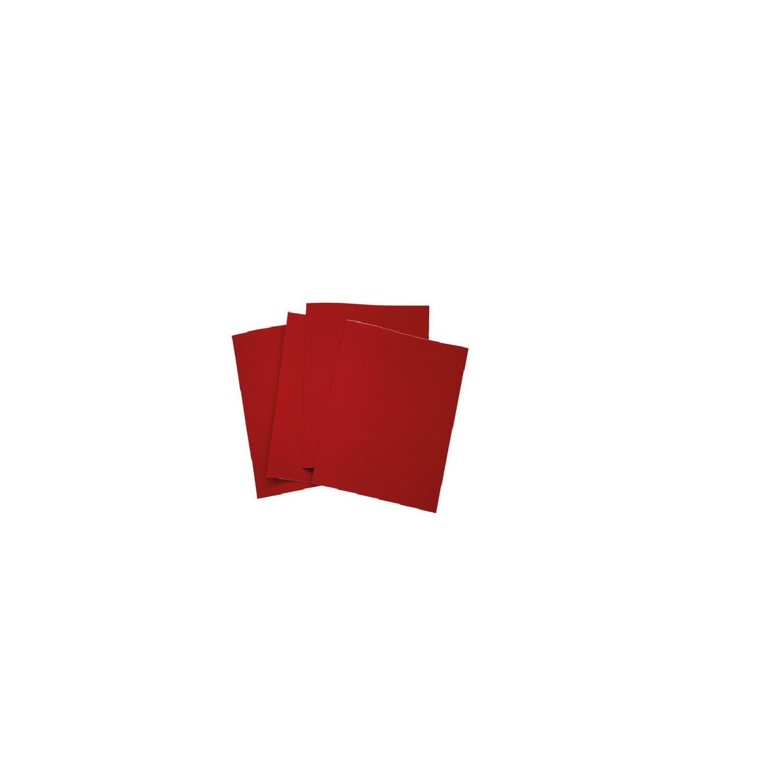 PFANNER Flickstoff-Textilbogen rot