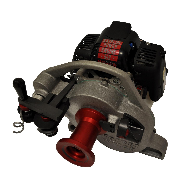 Benzinwinde Forstseilwinde Docma VF 150 Seilwinde inkl 80m Stahlseil