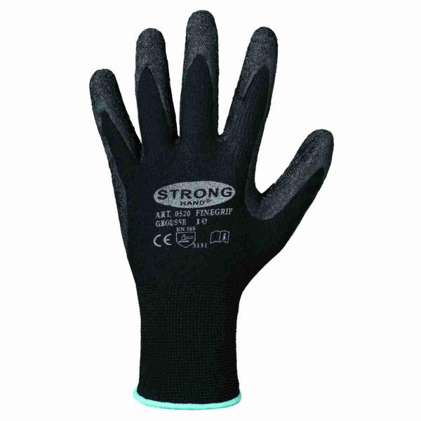 Handschuh Strong Hand Arbeitshandschuh mit Latexbeschichtung Gr. 8-11